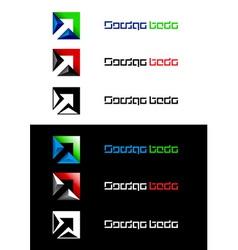 arrows design element vector image