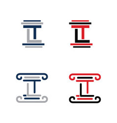 Lt logo vector