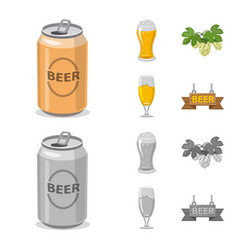 pub and bar sign vector image