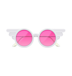 sunglasses realistic vector image