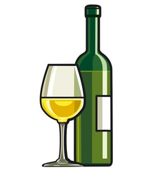 Table wine vector