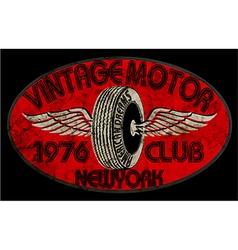 Vintagemotor vector