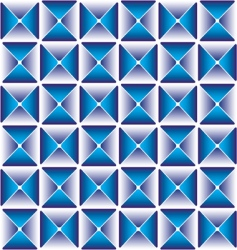 abstract cube pattern vector image vector image