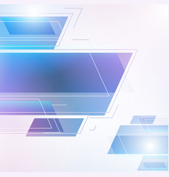 abstract geometric beautiful color gradients vector image