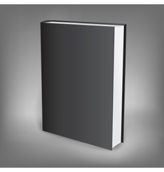 black book presentation vector image