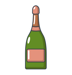 champagne icon cartoon style vector image