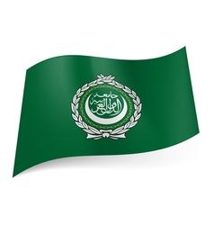 Flag arab league vector