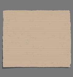 Old cardboard vector image