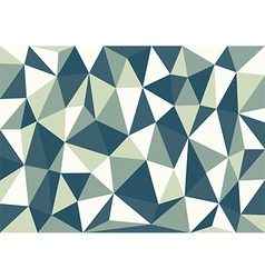 Petrol blue triangles background vector