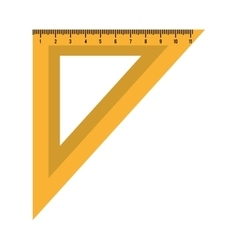 Ruler measurement isolated icon design vector image