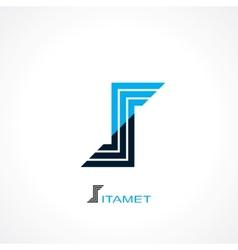 symbol letter s vector image