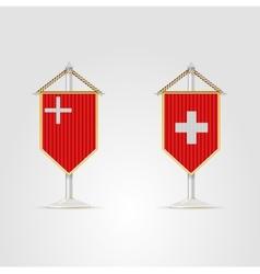 national symbols of Switzerland vector image
