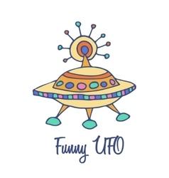 Funny Space Symbol vector image