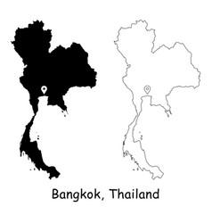 1178 bangkok thailand vector image