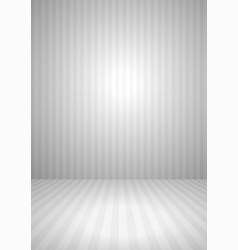 abstract gray vintage striped room vector image