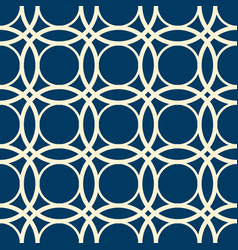 abstract minimalistic vintage seamless pattern vector image