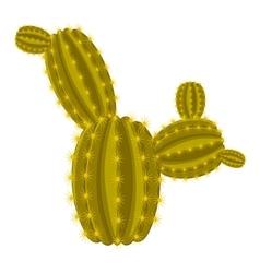 Big ferocactus icon cartoon style vector