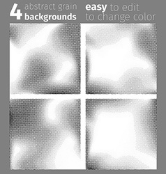 Grain noise abstract dotted background collection vector