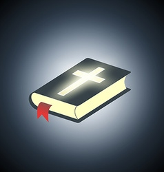 Holy Bible Symbol of religion vector image