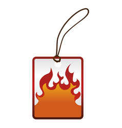 hot sale shopping tag vector image