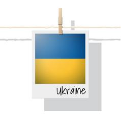 Photo of ukraine flag vector