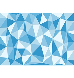Soft blue triangles background vector