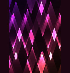 Spinel fractal crystal shine abstract vector