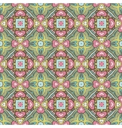 Abstract festive colorful floral pattern vector