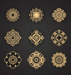 Thai art element for design vector image