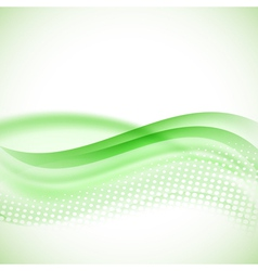 abstract modern halftone green background vector image