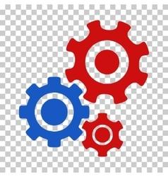 Gear Mechanism Icon vector image vector image