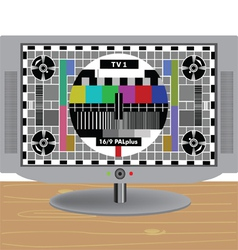 TV-LCD vector image