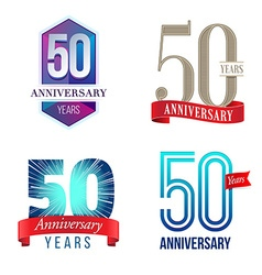 50 Years Anniversary Symbol vector