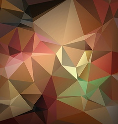 Abstract brochure and flyer covers in polygonal vector