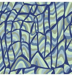 Abstract wave seamless pattern vector image