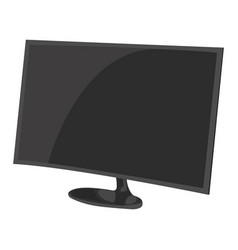 desktop icon on a white background vector image