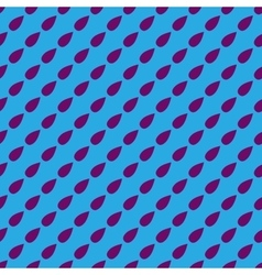 Drop geometric seamless pattern 6606 vector image