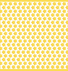 gold stars ornament decoration background vector image
