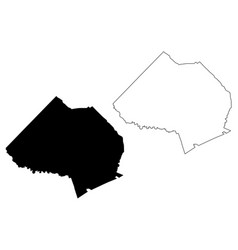 Jackson county georgia us county united states of vector