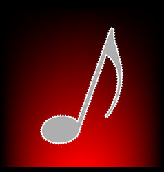 music note style vector image