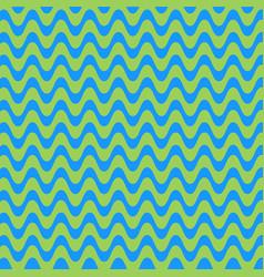 ornament pattern in form waves vintage vector image