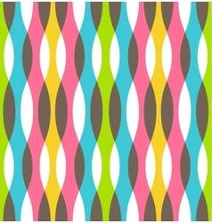 Seamless Bright Abstract Vertical Pattern vector image