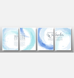 set background circle pastel blue vector image