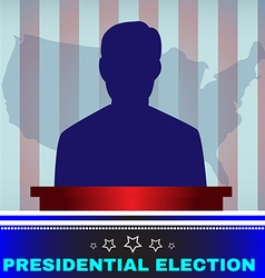Usa Presidential Election Candidate vector
