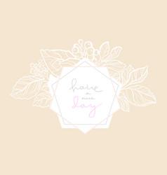wedding card nude vector image