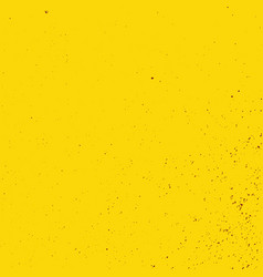 yellow grunge background vector image