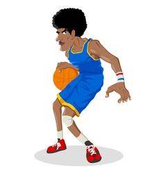 Basket Ball Player vector image vector image