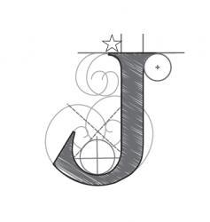 j vector image vector image