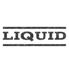 Liquid watermark stamp vector