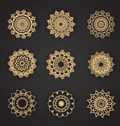 design elements graphic thai design vector image vector image